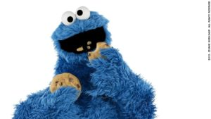 Cookie_monster with cookies